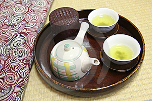 Japanese Tea Royalty Free Stock Photos - Image: 8416488
