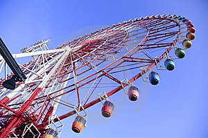 Ferris Wheel Royalty Free Stock Image - Image: 8416626