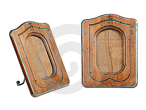 Old-fashion Wooden Frame Stock Image - Image: 8417601