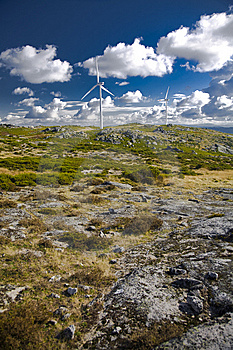 Wind Energy Turbine Stock Images - Image: 8419004