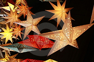 Yellow Stars Royalty Free Stock Photo - Image: 8419445