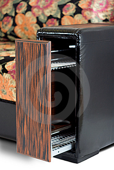 The Box With Bar Stock Image - Image: 8419731
