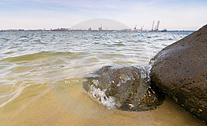 Beach Royalty Free Stock Photos - Image: 8419818