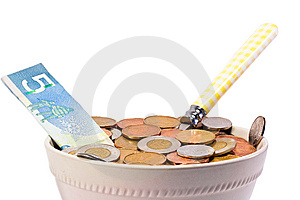 Hungry For Cash Stock Images - Image: 8419894