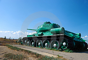 Tank In An Attack Stock Photos - Image: 8420233