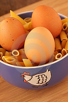 Blue Dish With Eggs Royalty Free Stock Photos - Image: 8421208