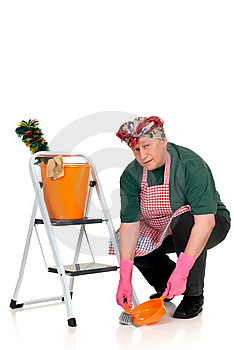 Household, Housewife Stock Photo - Image: 8422250
