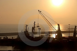 Docks Stock Image - Image: 8423181