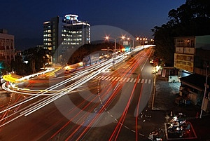 Night Scenes Royalty Free Stock Photos - Image: 8423318