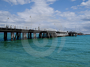 Pier Stock Images - Image: 8423534