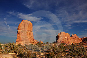 ARCHES NATIONAL PARK Stock Photos - Image: 8423563
