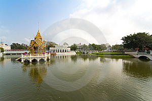 Bang Pa-In Palace, Bangkok Royalty Free Stock Photo - Image: 8423735