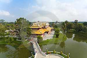 Bang Pa-In Palace, Bangkok Stock Photography - Image: 8423832