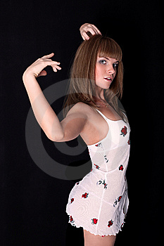 Latin Dancer Royalty Free Stock Photo - Image: 8424495