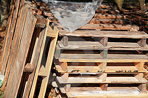 Pallet Stack Royalty Free Stock Image - Image: 8425266