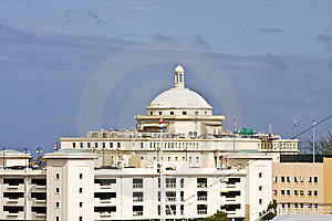 Domed Government Building Royalty Free Stock Photography - Image: 8425447