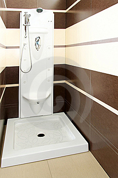 Brown Shower 2 Stock Photos - Image: 8425763
