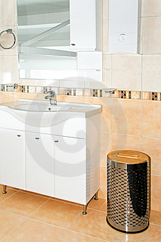 Contemporary Toilet Royalty Free Stock Photos - Image: 8425798