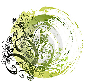 Floral Element For Design Royalty Free Stock Photography - Image: 8426717