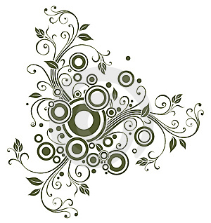 Floral Element For Design Royalty Free Stock Images - Image: 8426719