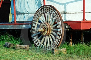 Ancient Wheel Royalty Free Stock Image - Image: 8426986