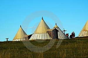 Yurt Royalty Free Stock Photo - Image: 8427005