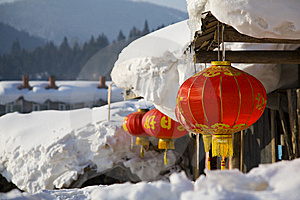 Red Lanterns Royalty Free Stock Photo - Image: 8427105