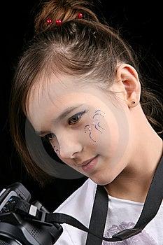 Girl Portrait Stock Image - Image: 8427431