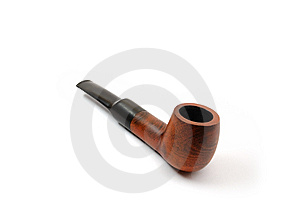 Tube For Smoking Royalty Free Stock Images - Image: 8427499