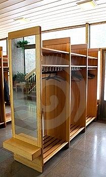 Wooden Coat Rack Royalty Free Stock Photo - Image: 8427555