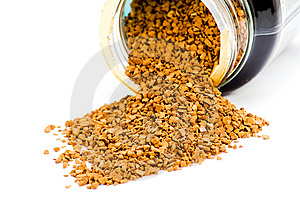 Instant Coffee Granules Royalty Free Stock Photos - Image: 8428198