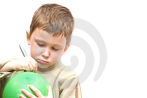 Green Ballon Royalty Free Stock Image - Image: 8428356