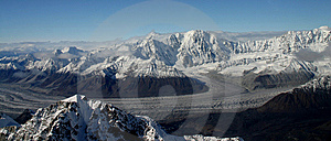 Alaskan Glacier Royalty Free Stock Images - Image: 8429229