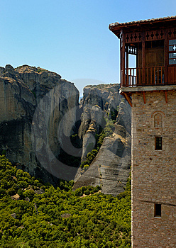 Meteora Monastery, Greece Stock Photo - Image: 8429560