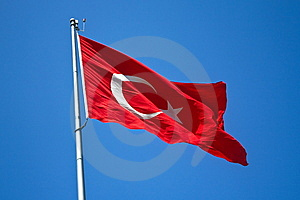 Turkish Flag Stock Photos - Image: 8429793