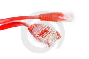 Red Wire Stock Photo - Image: 8430360