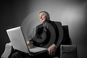 Laptop Royalty Free Stock Photography - Image: 8431177