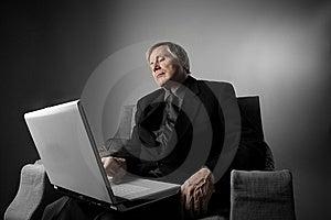 Laptop Lizenzfreie Stockfotografie - Bild: 8431177