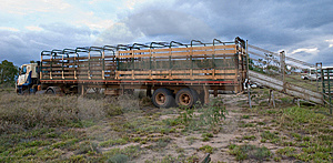 Trailer Stock Photo - Image: 8431610