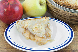 Piece Of Apple Pie Royalty Free Stock Image - Image: 8432226