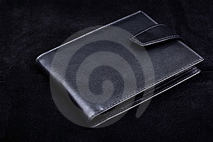 Leather Wallet Studio Shot. Stock Image - Image: 8432881