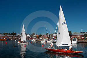 Hanko Quay Royalty Free Stock Images - Image: 8433609