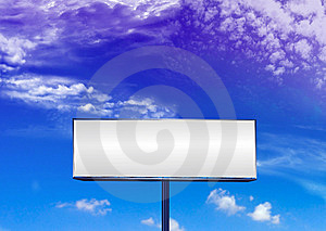 Blank Billboard Stock Photography - Image: 8433872
