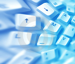 Computer Keys Stock Images - Image: 8434704