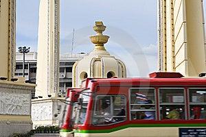Democracy Monument Bangkok Royalty Free Stock Image - Image: 8434806