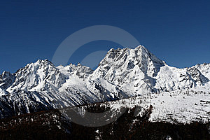 Large Mountain Royalty Free Stock Images - Image: 8435319