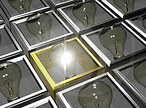 Powerful Bulb Stock Images - Image: 8435704