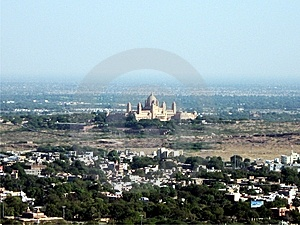City With Fort Royalty Free Stock Photo - Image: 8435805