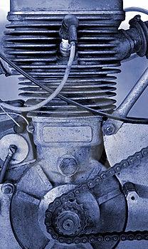 Motor. Royalty Free Stock Image - Image: 8435966