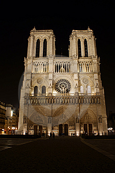 Notre Dame Stock Image - Image: 8438911